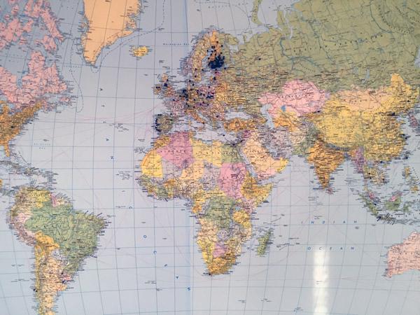 Henkilökuntamme on työskennellyt yli 100 kohteessa ympäri maailman