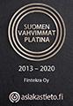 Suomen Vahvimmat - Fintekra Oy
