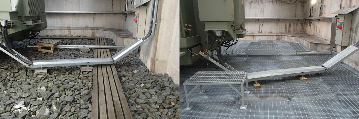 Kuva kohteesta ennen (vasemmalla) ja jälkeen (oikealla)